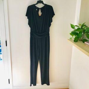 Black Knit Jumpsuit